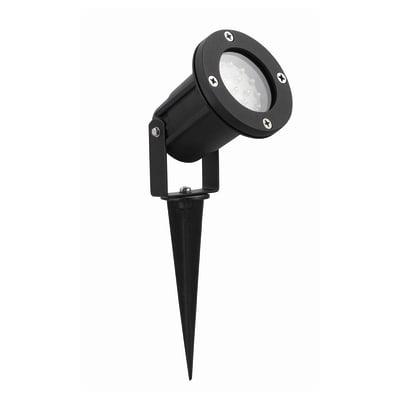 Proiettore Ada in alluminio nero GU10 MAX28W IP44 INSPIRE