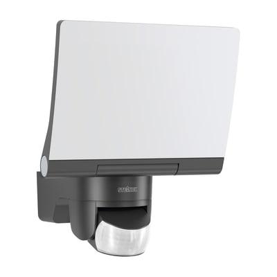 Proiettore LED integrato con sensore di movimento Xled home 2 xl sl in plastica, nero, 20W 1608LM IP44 STEINEL