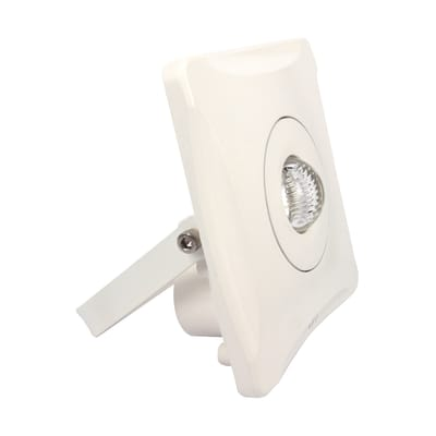 Proiettore LED integrato Faro in acciaio, bianco, 10W 700LM IP65