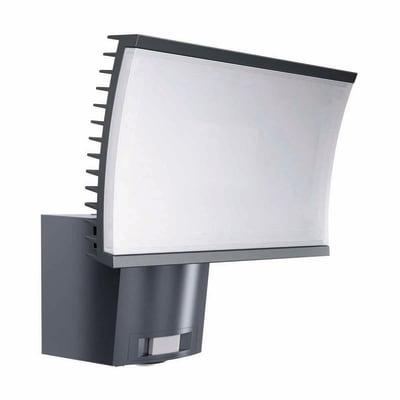 Proiettore LED integrato con sensore di movimento Noxlite in alluminio, grigio, 40W 3000LM IP44 OSRAM
