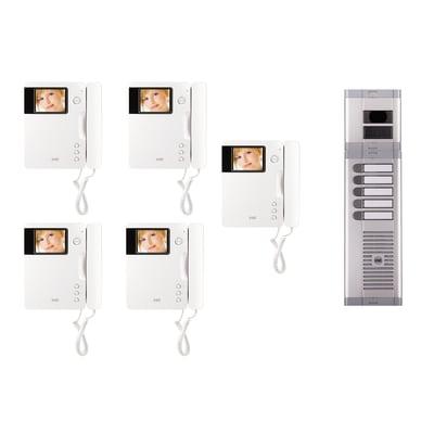 Videocitofono con filo monofamiliare  URMET 956/75 6 fili