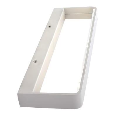 Applique Adil bianco, in metallo, 23 cm, LED integrato 6W