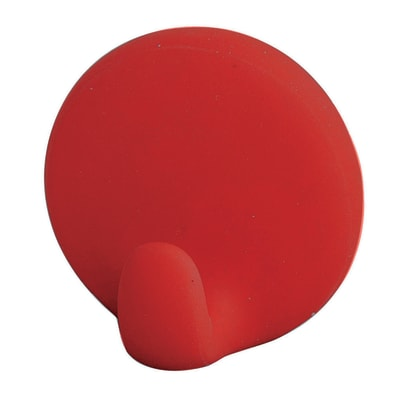 Gancio in polietilene rosso