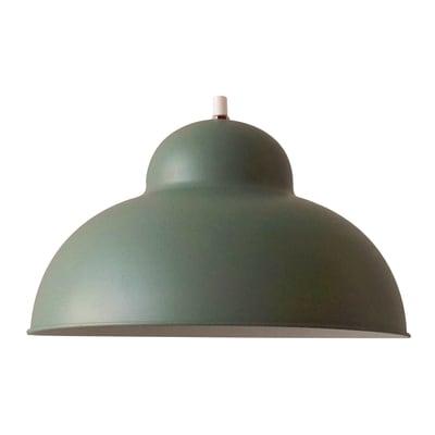 Lampadario Scandinavo Kolibrì verde in metallo, D. 31 cm, ON