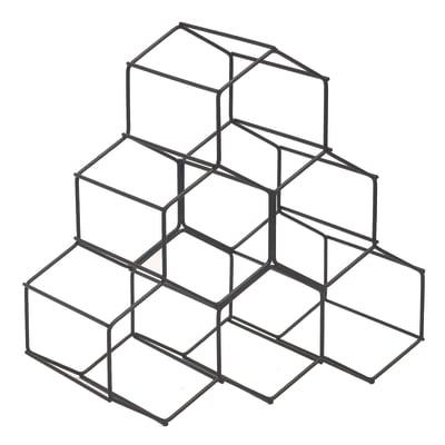 Portabottiglie Hexan L 28 x H 28 x Sp 14.5 cm
