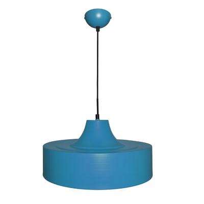Lampadario Lakewood blu, in metallo, diam. 40 cm, E27 MAX60W IP20 INSPIRE
