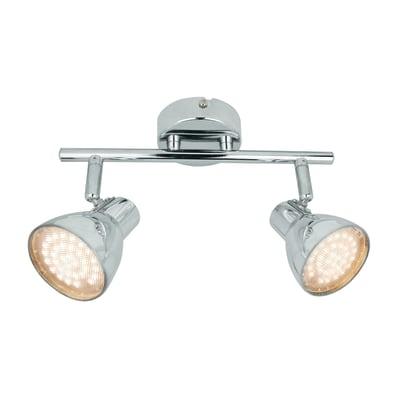 Barra di faretti Iki cromo, in metallo, LED integrato 5.2W 340LM IP20 INSPIRE