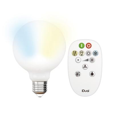 Lampadina Filamento LED E27 bulbo bianco 9W = 806LM (equiv 60W) 330° JEDI