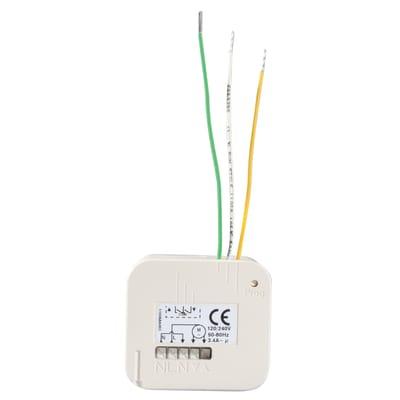 Ricevitore per automatismi SOMFY compatibile con compatibile con tutti i telecomandi e tecnologia rts somfy