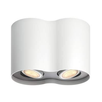 Barra di faretti Pillar bianco, in metallo, LED integrato 5.5W 500LM IP20 PHILIPS HUE