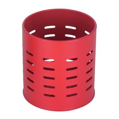 Porta utensile in metallo rosso x 13