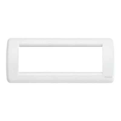 Placca VIMAR Idea 6 moduli bianco