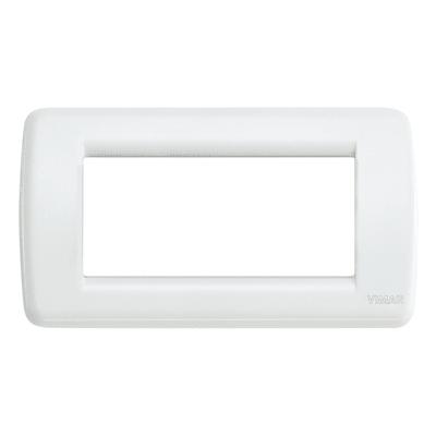 Placca VIMAR Idea 4 moduli bianco