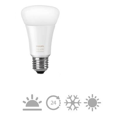 Lampadina LED E27 standard colore cangiante 9.5W = 806LM (equiv 9,5W) 160° PHILIPS HUE