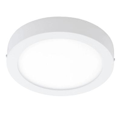 Faretto fisso da incasso tondo Fueva-C in metallo, bianco, diam. 22 cm 4xLED integrato 15,6W 2000LM IP20 EGLO