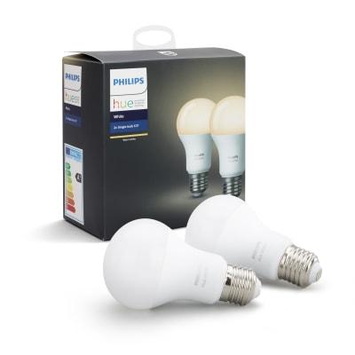 Lampadina LED E27 goccia bianco 60W = 806LM (equiv 95W) 220° PHILIPS HUE