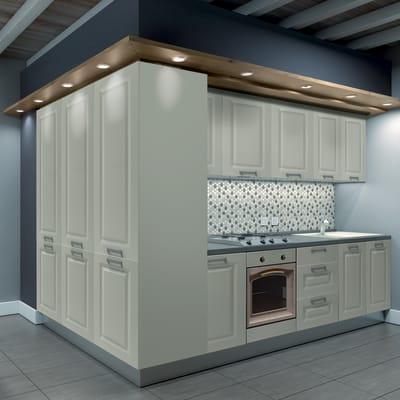 Cucina in kit DELINIA garda stone bianco