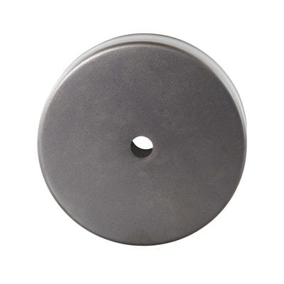 Rosone in ferro grigio