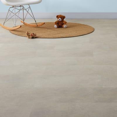 Pavimento pvc adesivo Limestone Sp 2 mm grigio / argento