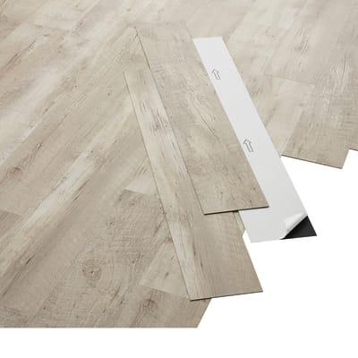Pavimento pvc adesivo Softwhite Sp 2 mm bianco
