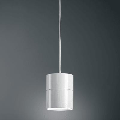 Lampadario Design Suspence LED integrato bianco, in alluminio, D. 15.7 cm