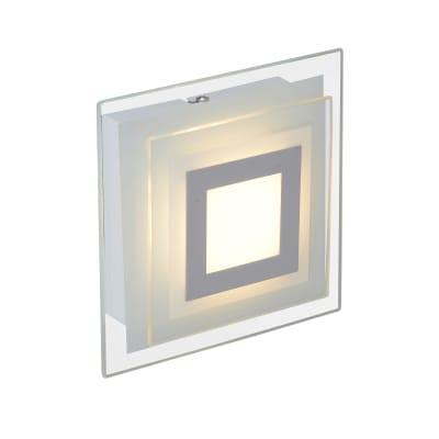Applique moderno LED integrato Cres LED integrato bianco, in metallo, 4.7x18 cm, INSPIRE