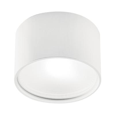 Plafoniera Cube round bianco, in alluminio, diam. 19, LED integrato 30W 2530LM IP20