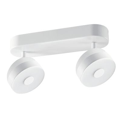 Faretto completo Jino bianco, in alluminio, LED integrato 13W 800LM IP20 INSPIRE