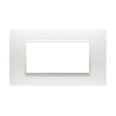 Placca SIMON URMET Nea Flexa 4 moduli bianco