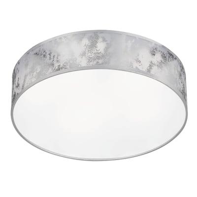 Plafoniera Leika bianco, in plastica, 40x40 cm, LED integrato 21W IP20 WOFI