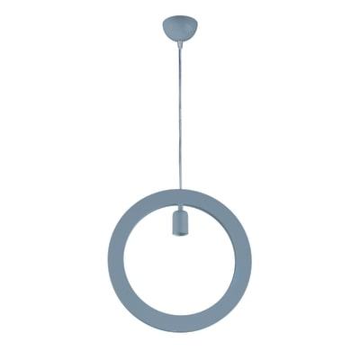 Lampadario Pop Oblo alluminio in metallo, D. 38 cm, NOVECENTO