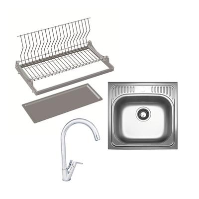 Cucina in kit grigio