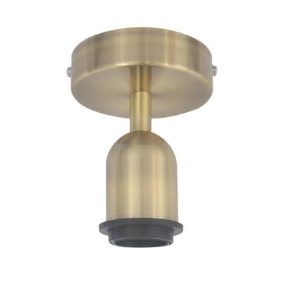 Base per plafoniera Helena E27 1xMAX60W in metallo oro IP20 INSPIRE