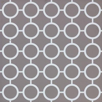 Piastrella Astuce L 19.7 x H 19.7 cm grigio