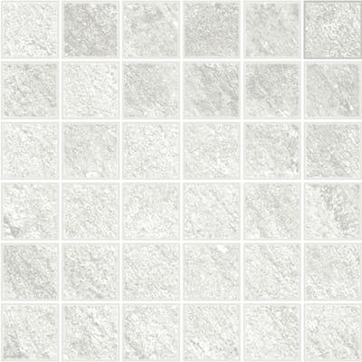 Mosaico Discovery Glacial H 30 x L 30 cm bianco
