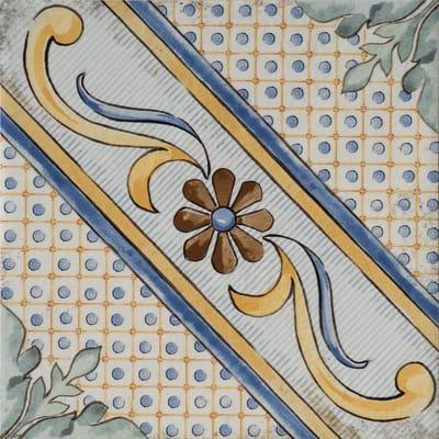 Piastrella Med H 20 x L 20 cm PEI 4/5 multicolore