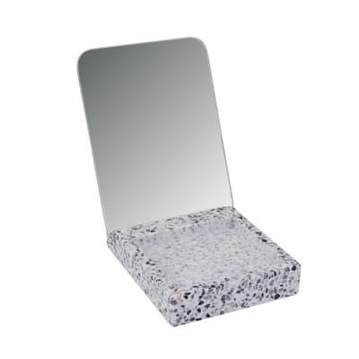 Specchio ingranditore rettangolare Terrazo L 10 x H 16 cm Ø 10 cmSensea