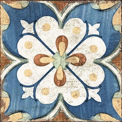 Piastrella Agadir Fiordaliso H 20 x L 20 cm PEI 3/5 multicolore