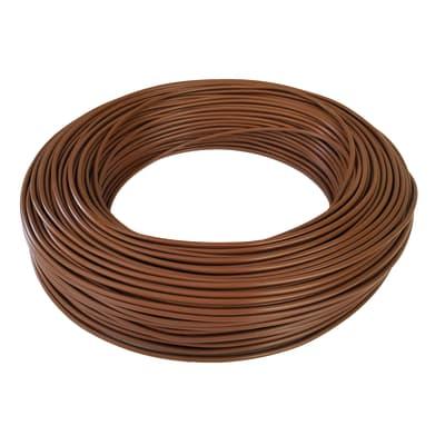 Cavo elettrico BALDASSARI CAVI 1 filo x 4 mm² Matassa 100 m marrone