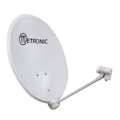 Antenna tv satellitare METRONIC Ø 80 cm cm bianco sporco