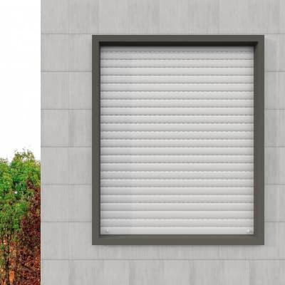 Kit tapparella in pvc PINTO bianco Roma L 173 x  H 160 cm
