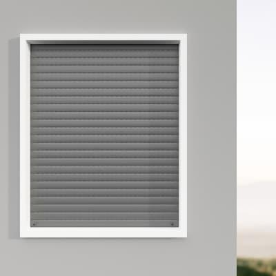 Kit tapparella in pvc PINTO grigio Torino L 83 x  H 160 cm