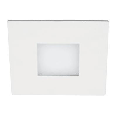 Plafoniera Squares silver, in acciaio, diam. 14, LED integrato 8W IP20