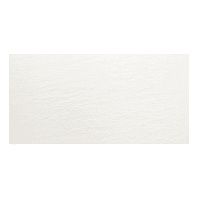Piastrella Slate L 30 x H 25 cm bianco