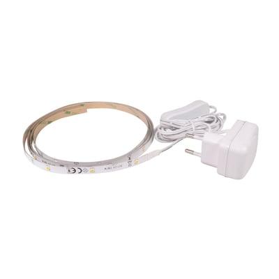 Striscia led 1.5m luce bianco caldo 200LM IP20