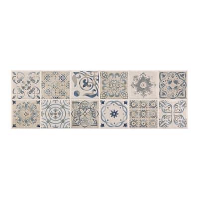 Piastrella Mosaico Antique L 30 x H 90 cm grigio