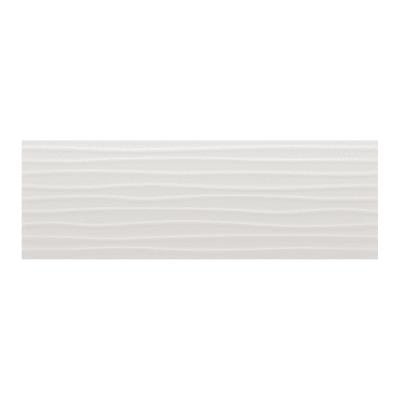 Piastrella Wellen L 30 x H 90 cm bianco