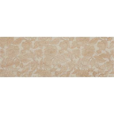 Piastrella per rivestimenti Venezia Fiore 25 x 70 cm sp. 8.5 mm beige