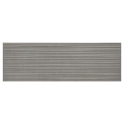 Piastrella per rivestimenti Atelier Line 25 x 76 cm sp. 10 mm antracite