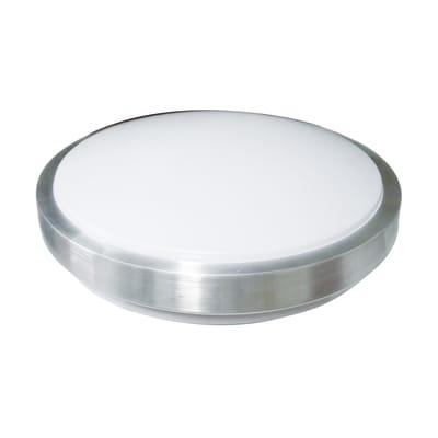 Plafoniera Katia bianco, in plastica38 cm, diam. 38 cm, E27 MAX50W IP20